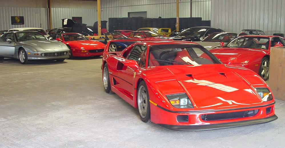 Exotic Classic Car Storage Houston Texas | Vehicle Storage Houston TX